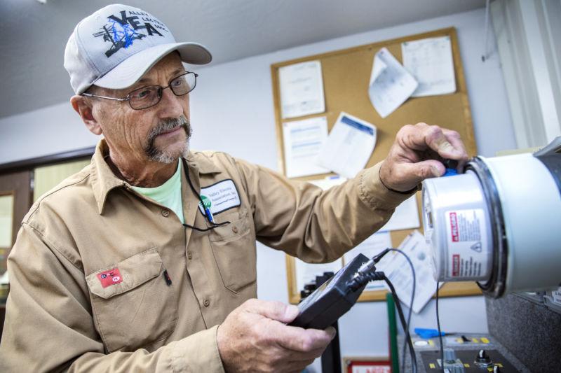 VEA Meter Technician Dave Wagner