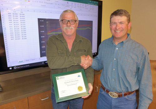 Board Member Derschan Earns Gold Certification